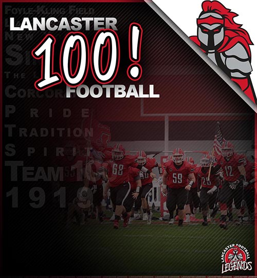 Lancaster Football All-WNY, 1st Team All Conference!