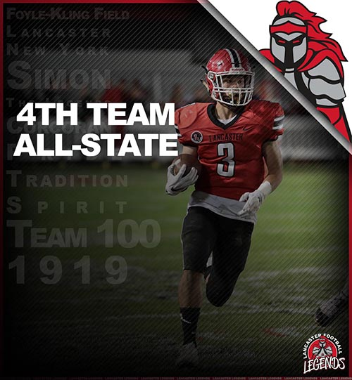 All-State 4th Team Shawn Davis!