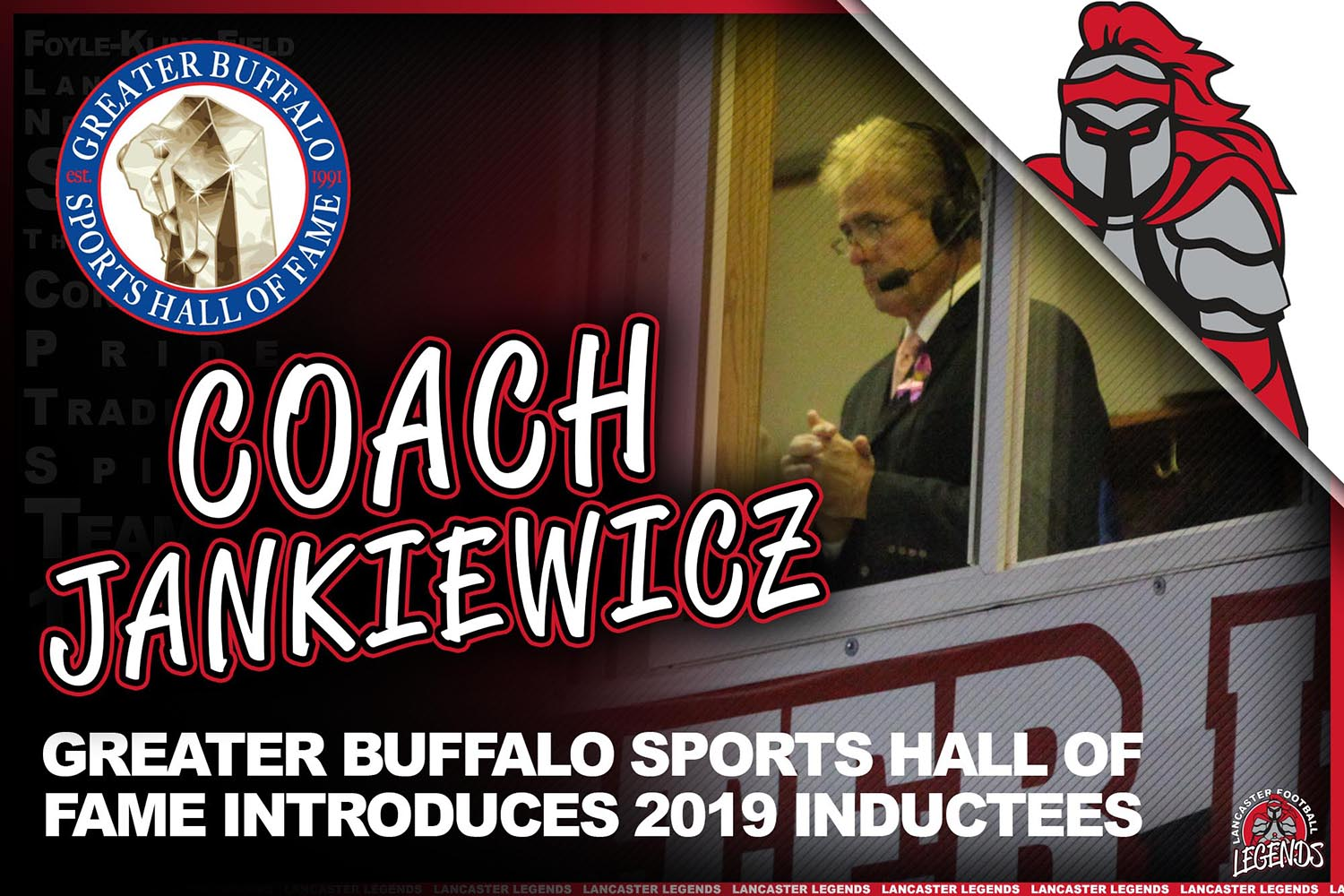 Greater Buffalo Sports Hall of Fame Introduces 2019 Inductees