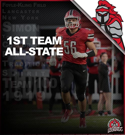 All-State 1st Team Conor Mahony!