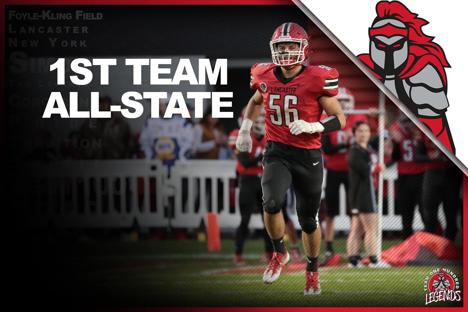 Conor Mahony ALL-State 1st Team!