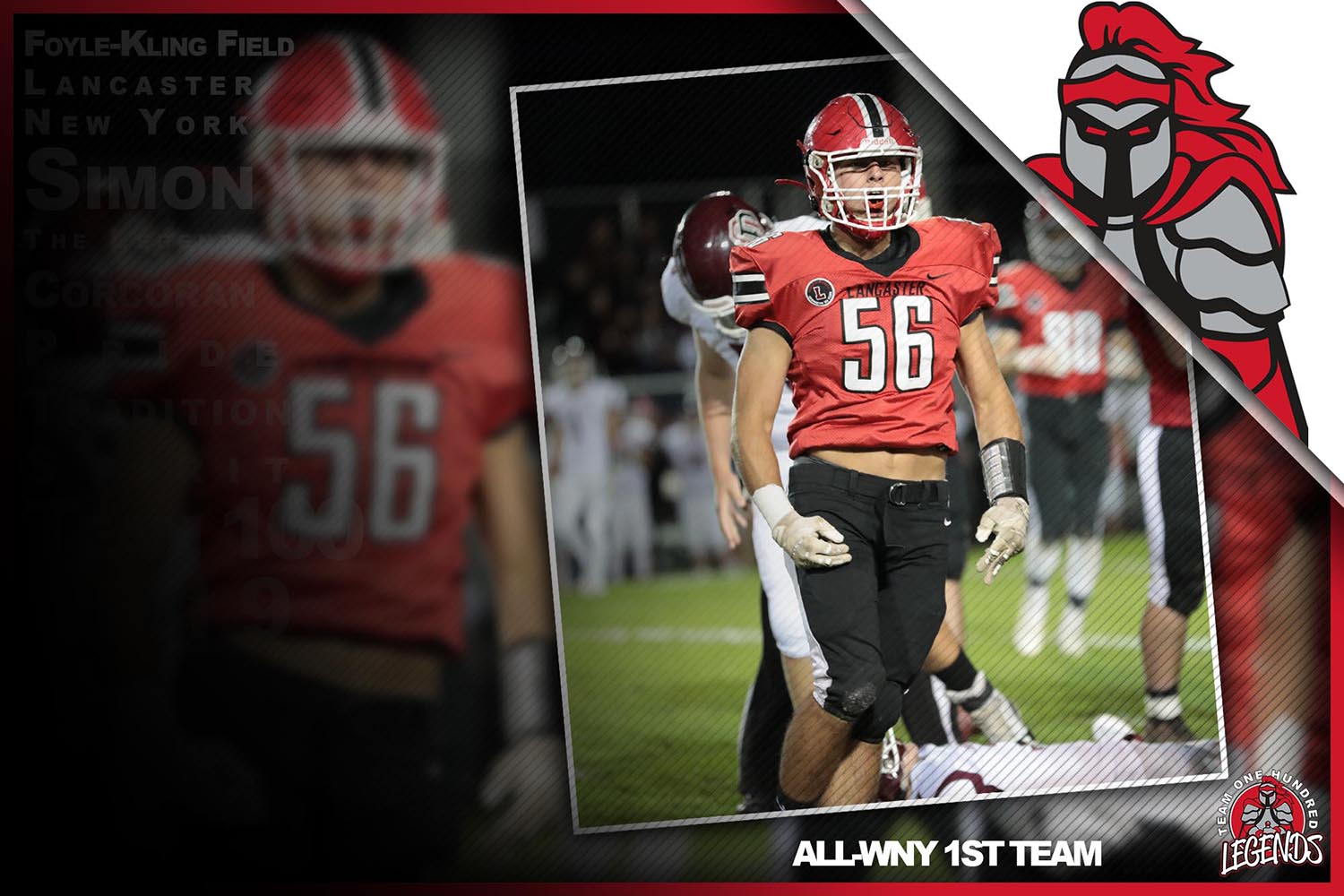 Conor Mahony ALL-WNY 1st Team!