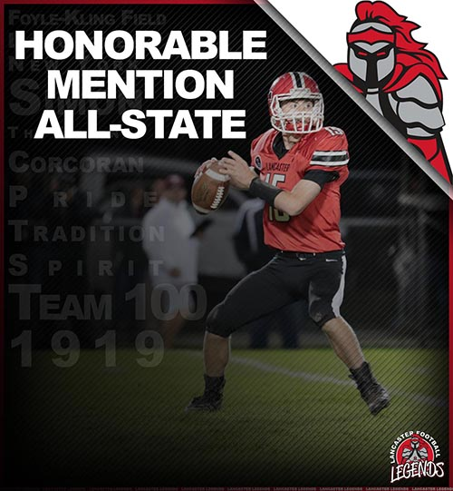 All-State Honorable Mention Jason Mansell!