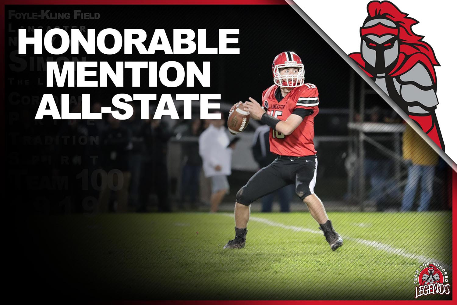 Jason Mansell ALL-State Honorable Mention Team!