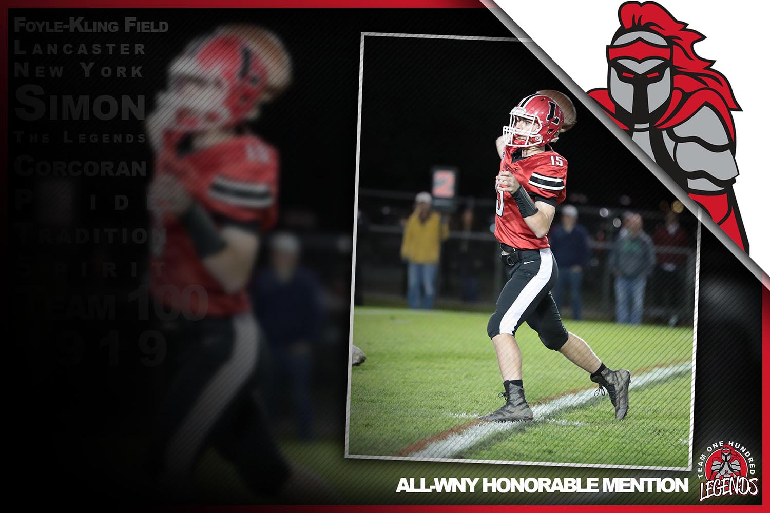 Jason Mansell ALL-WNY Honorable Mention Team!