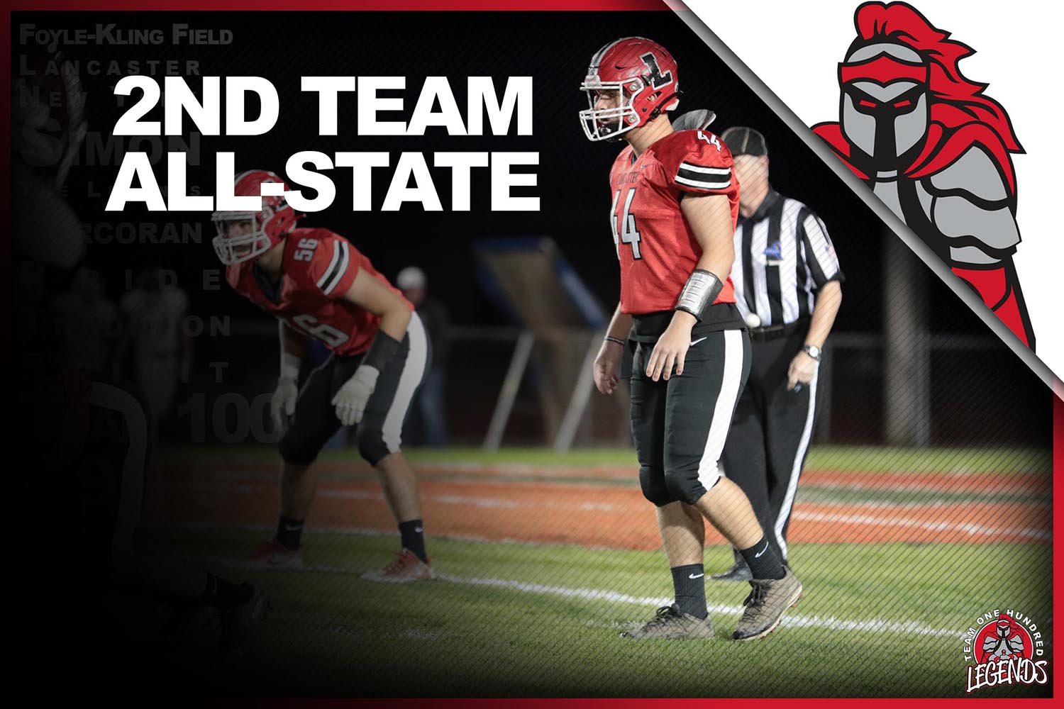 Matt Marschner ALL-State 2nd Team!