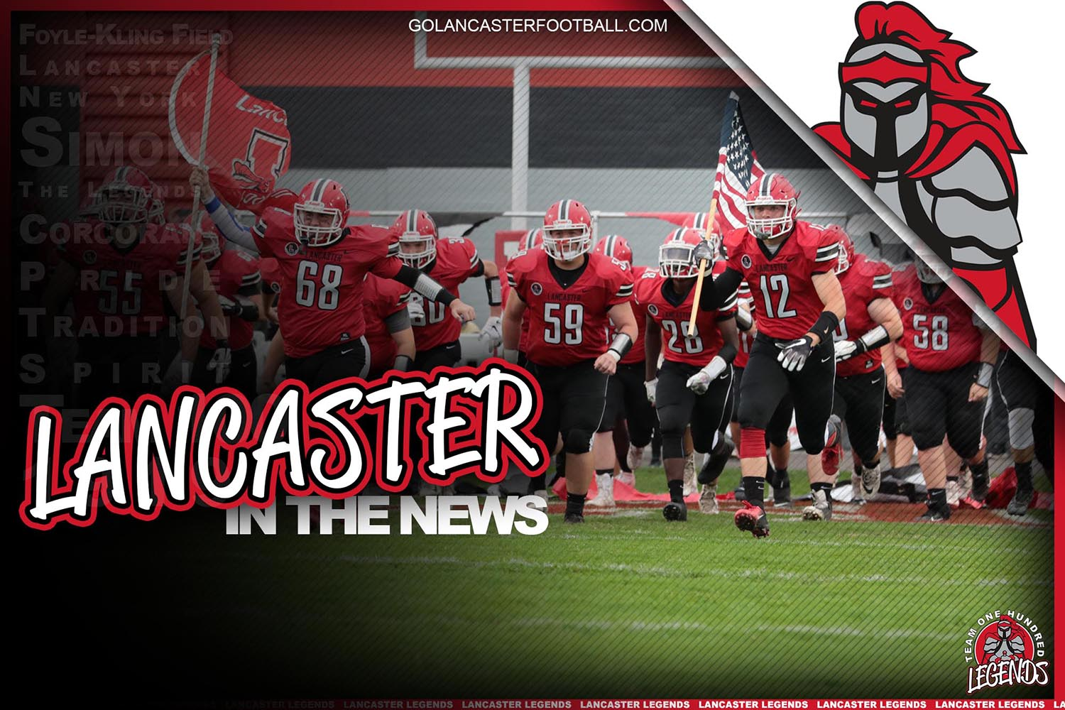 Lancaster Football in the News