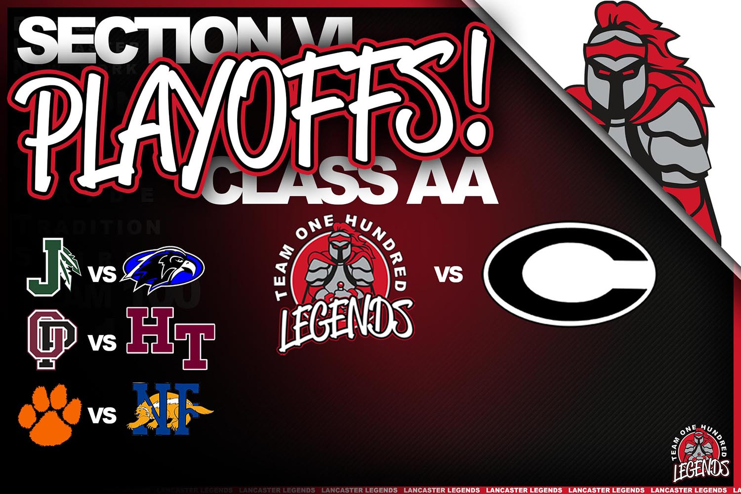 Lancaster is in the Playoffs!