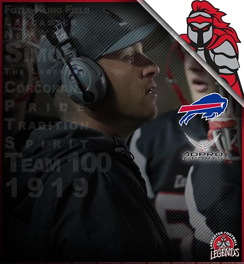 Lancaster Head Coach Honored by Buffalo Bills
