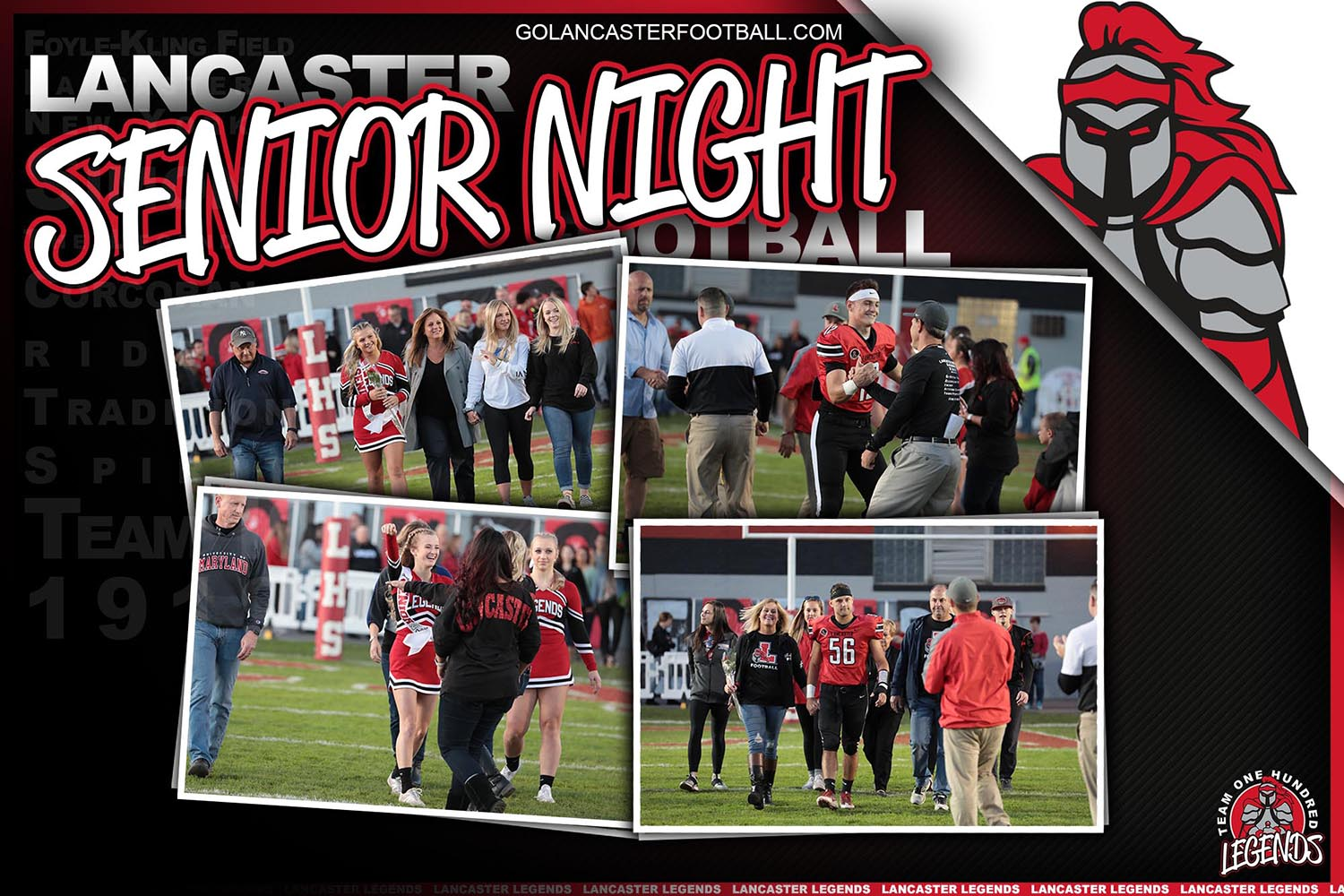 Lancaster Senior Night 2019