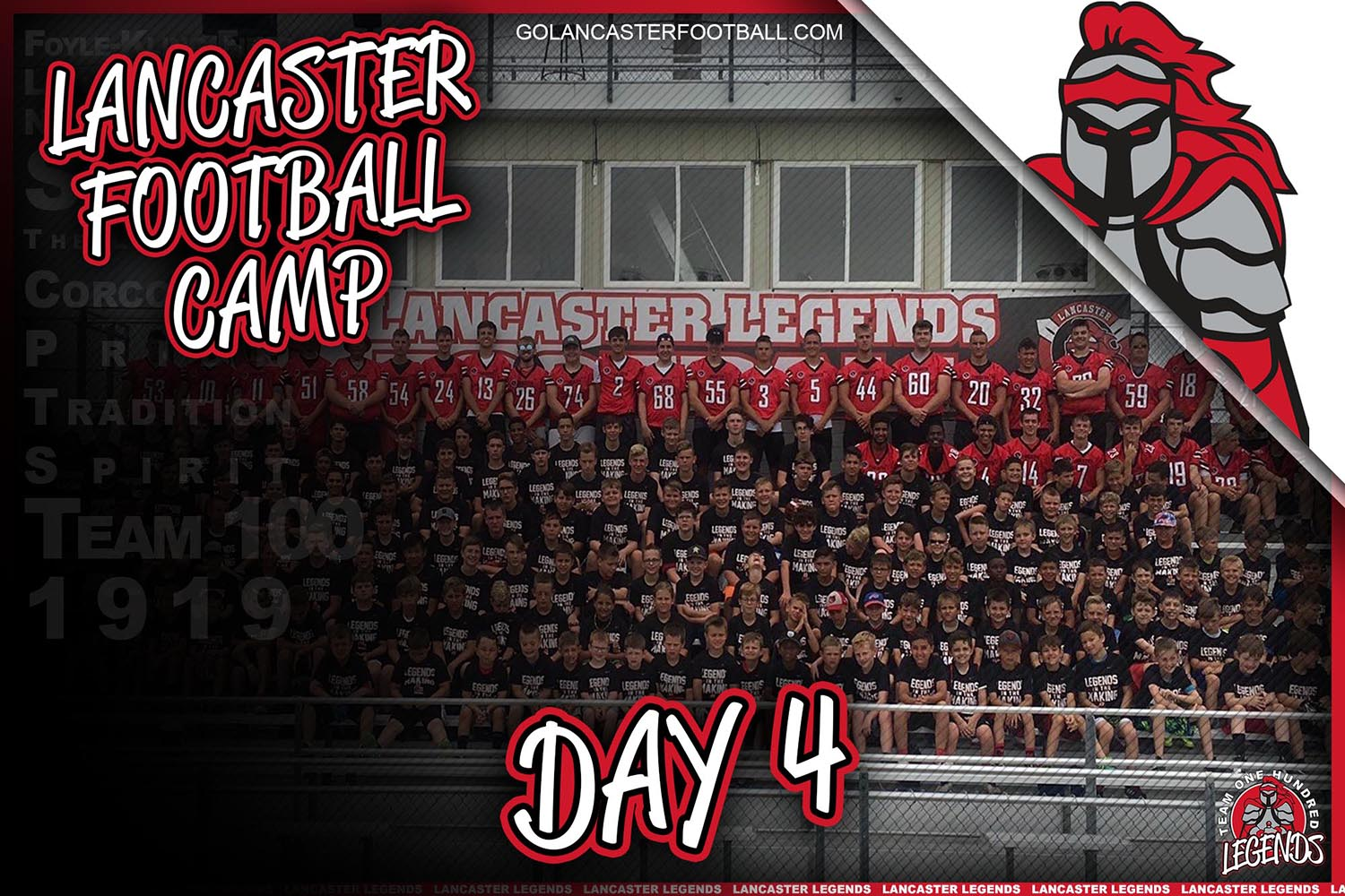 Lancaster Football Youth Camp 2019