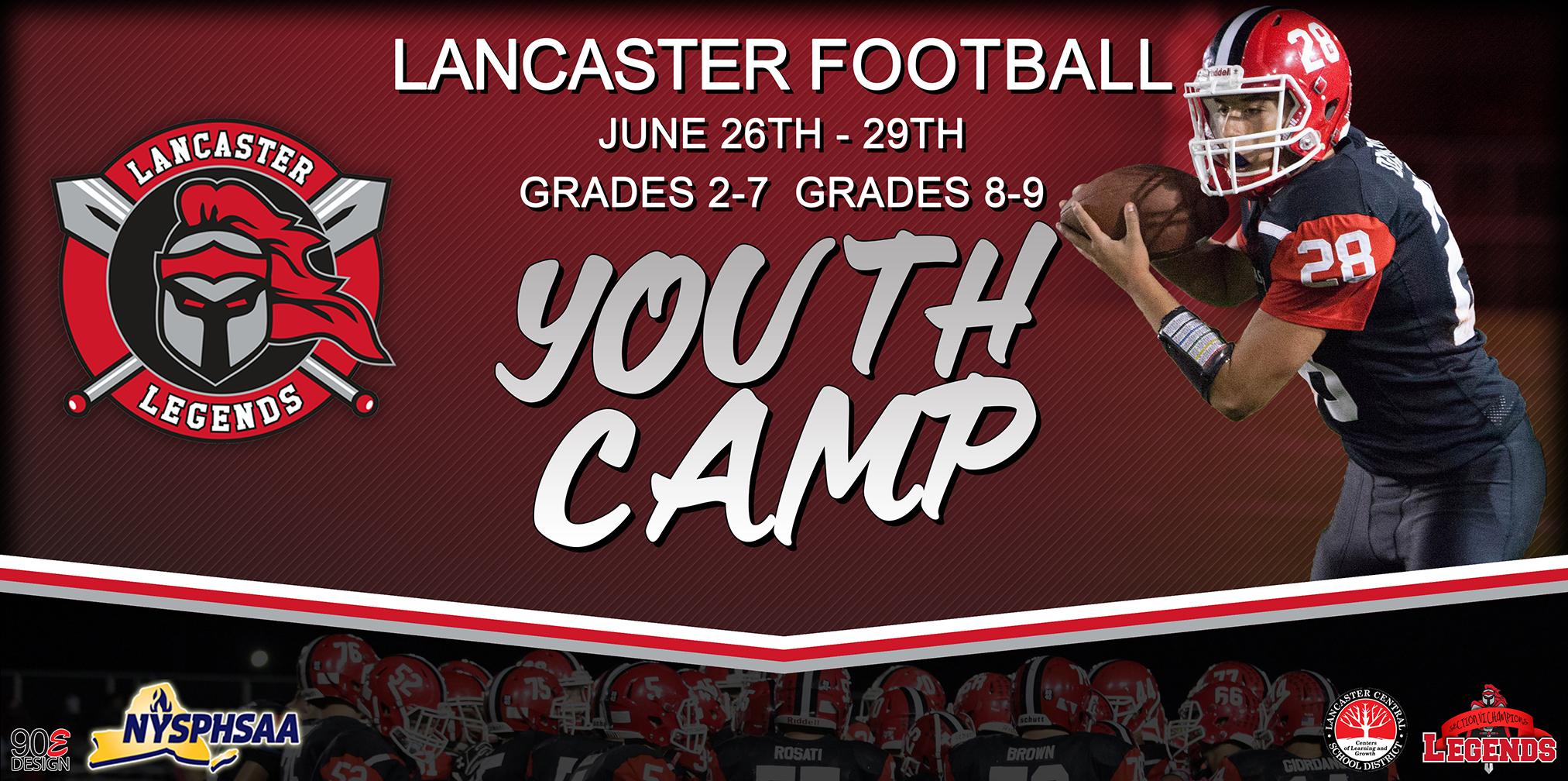 Lancaster Legends Football Lancaster High School (NY)