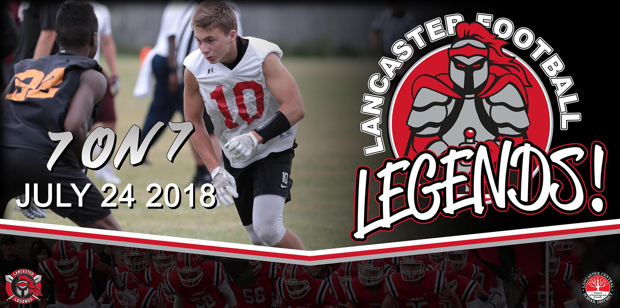 7 on 7 at Lancaster HS